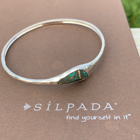 B3012 Silpada Encore sterling silver bangle